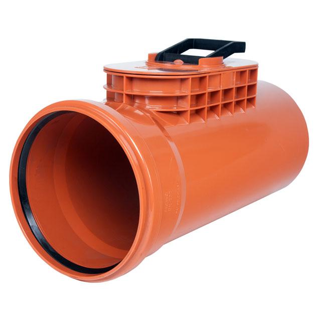 Putzstück - PVC mit Kunststoffdeckel