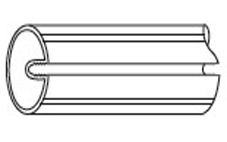 Alu-Säulen mit Schraubkanal