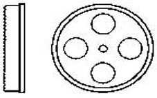 Leih-Kronenbohrer für Einlaufdichtungen Romold