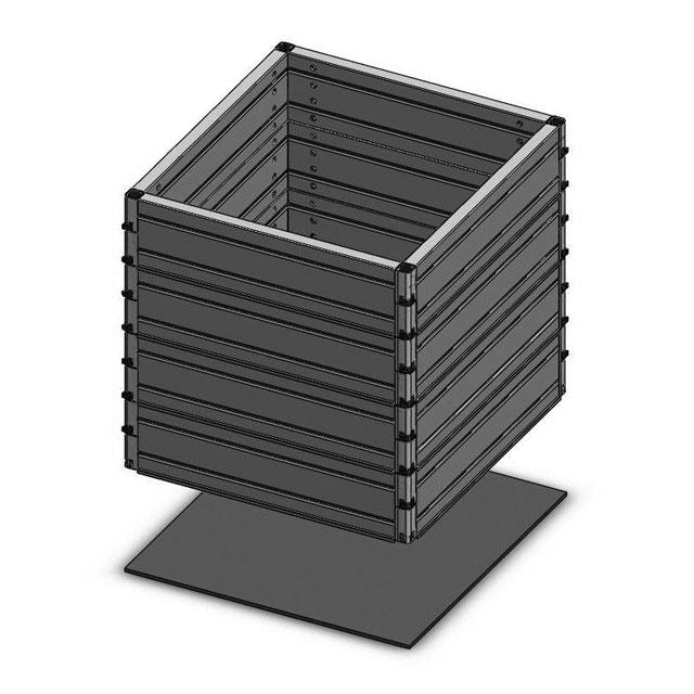 ROM-BOX 5 handelsübliche Abdeckungen (70x70)