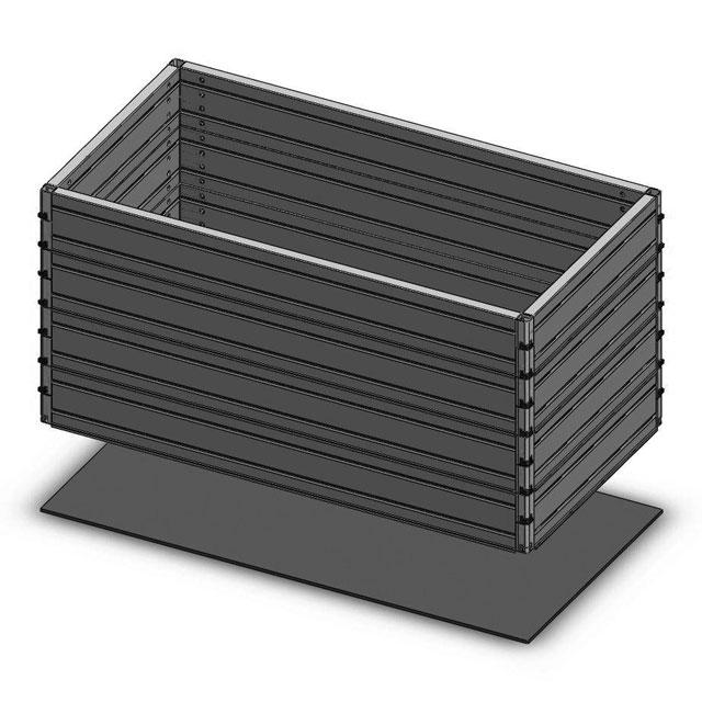 ROM-BOX 6 handelsübliche Abdeckungen (70x144)