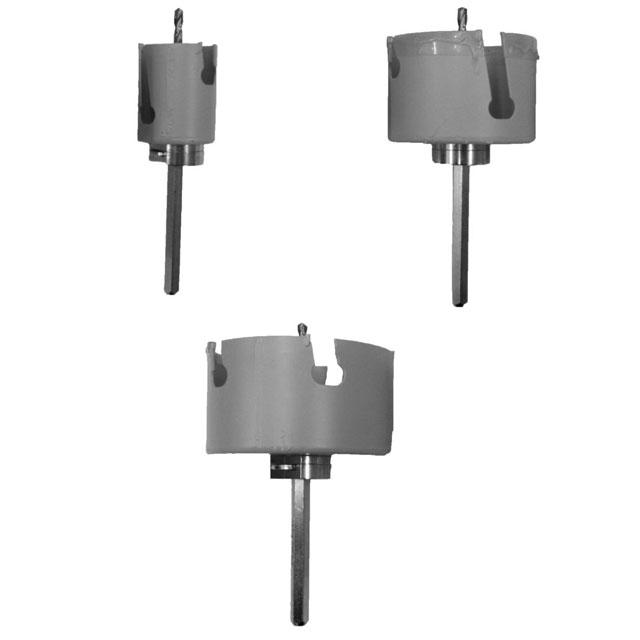 ROM-BOX Zubehör - Kronenbohrer inkl. Adapter