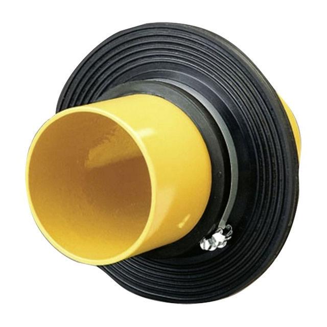 Mauerkragen für Leitungen durch Bodenplatte