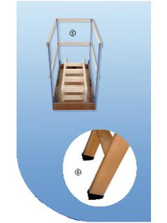 Lukenschutz & treppenschuh