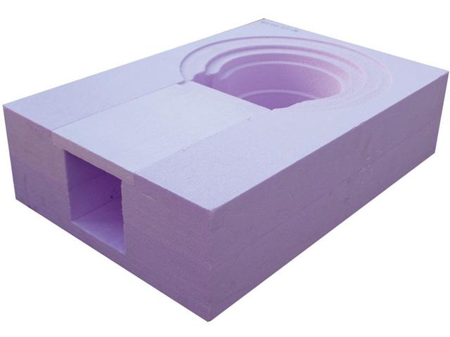 Dämmkörper für Performa Drain Dachabläufe abgewinkelt