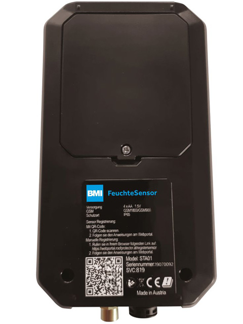 BMI Feuchtesensor FS 150 mit GSM-Modul