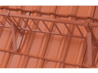 Verbindungsklammer Uni für Schneefanggitter färbig
