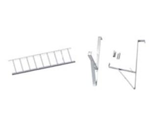 Verbindungsklammer Uni für Schneefanggitter verzinkt