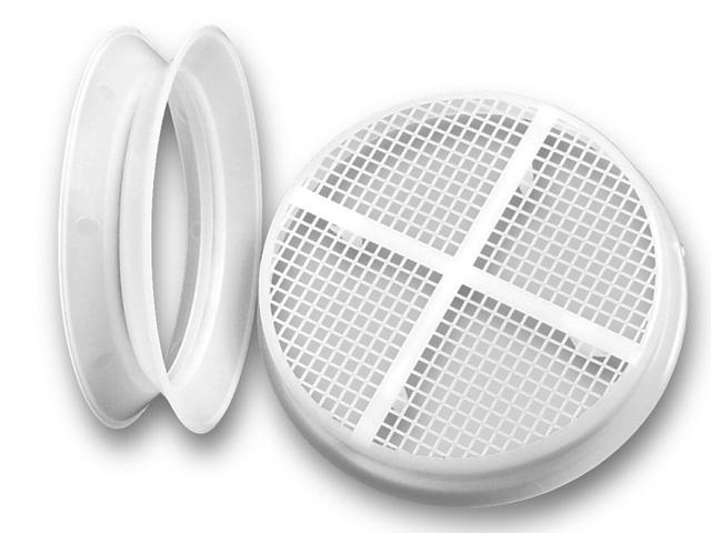 Unterdach-Lüfterelement für Spitzbodenentlüftung