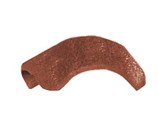 Gratverteilerstein glatt inkl. Glockenschraube