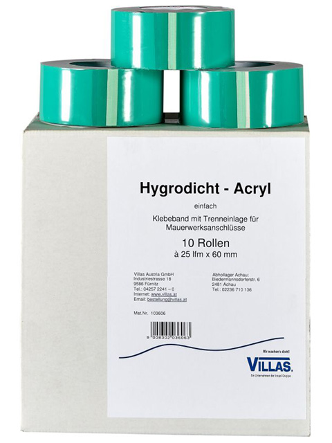 Hygrodicht Acryl Klebeband einfach