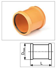 Artikelbild PP-UEBERSCHUBMUFFE NW400mm
