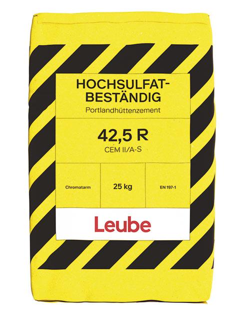 CEM II/A-S 42,5 R WT27 C3A-frei - Hochsulfatbeständig