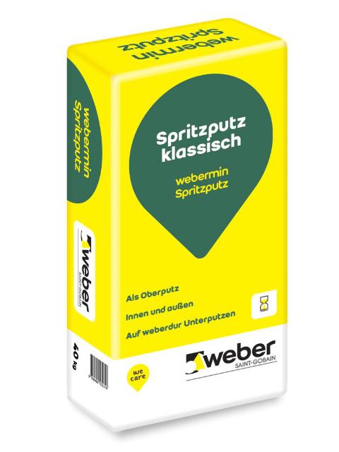 weber Spritzputz