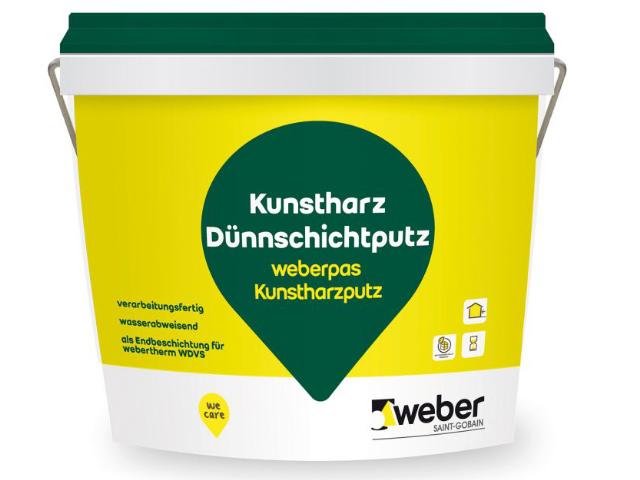 weber.pas Kunstharzputz