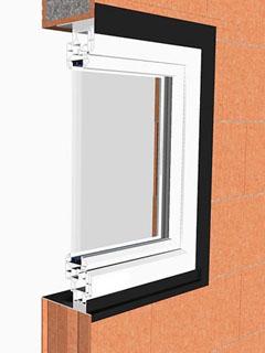 Fensteranschluss-System
