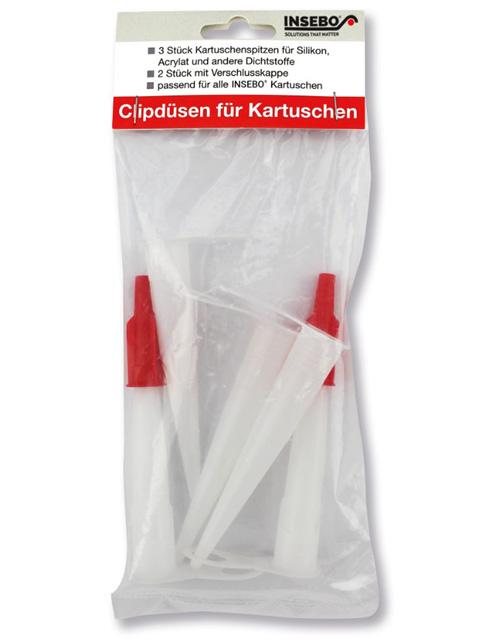 Clipdüsen für Kartuschen