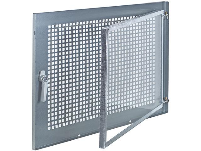 Stahlfenstereinsatz Gitterflügel feststehend Einflügelig, DIN R