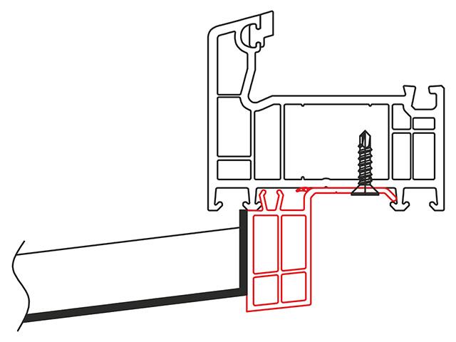 Fensterbankanschluss Standardlösungen