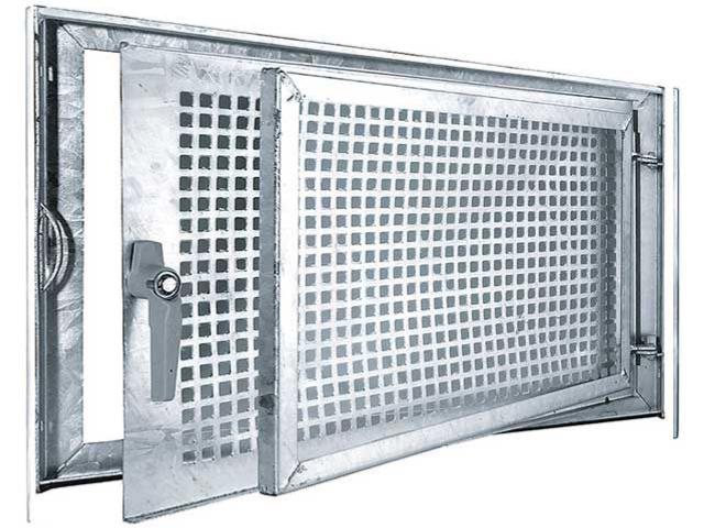Stahlkellerfenster, verzinkt Einflügelig