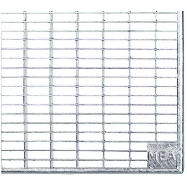 Gitterroste Standardtiefe, Breite 80cm