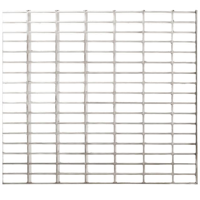 Gitterroste Standardtiefe, Breite 100cm