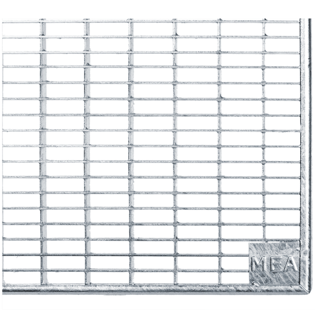 Gitterroste Standardtiefe, Breite 125cm