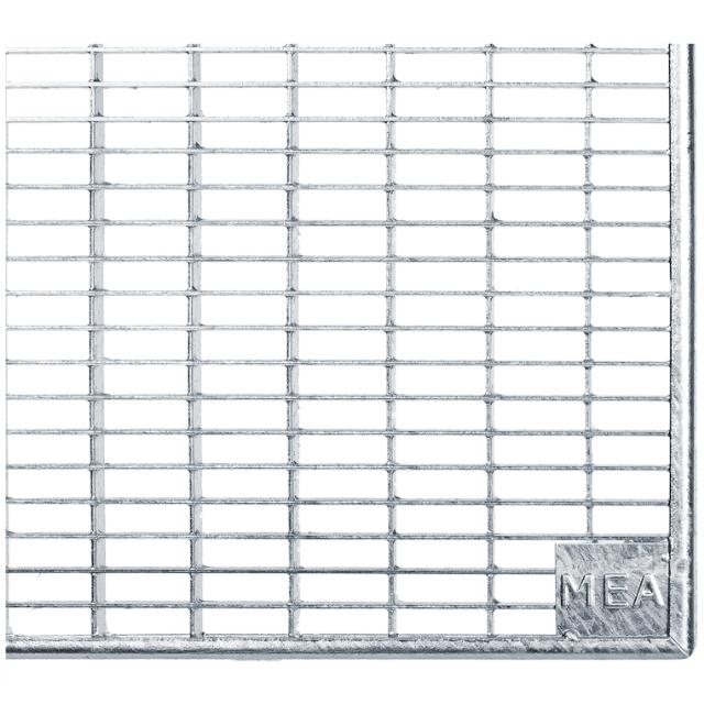 Gitterroste Standardtiefe, Breite 152cm