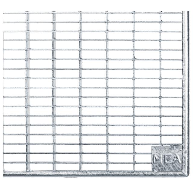 Gitterroste Standardtiefe, Breite 205cm