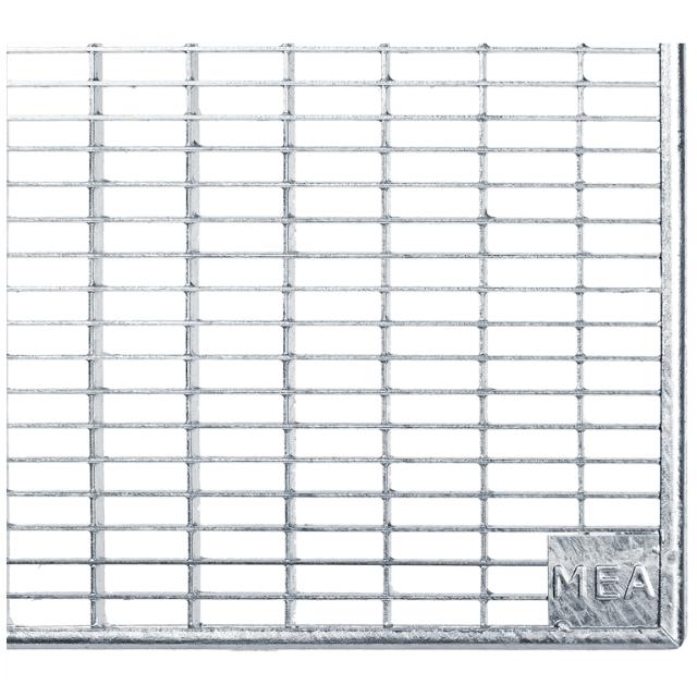 Gitterroste Standardtiefe, Breite 252cm