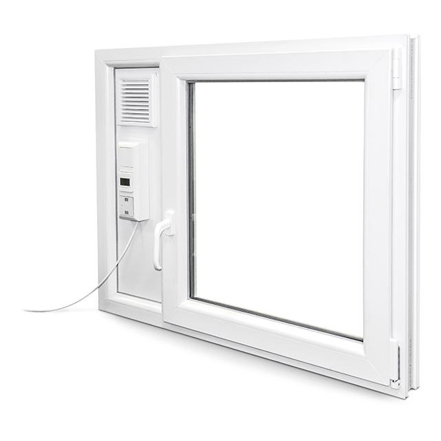 Fenstereinsatz mit MEALÜFT AIR DIN R