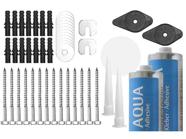 Montagesets für AQUA-Montage