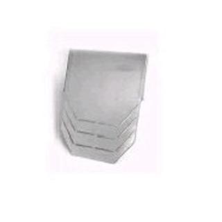 Stirn- bzw. Endplatte für BG-SI Sicherheitsrinne NW 200