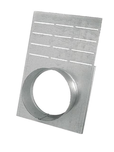 Endplatte mit Ablauf DN 100