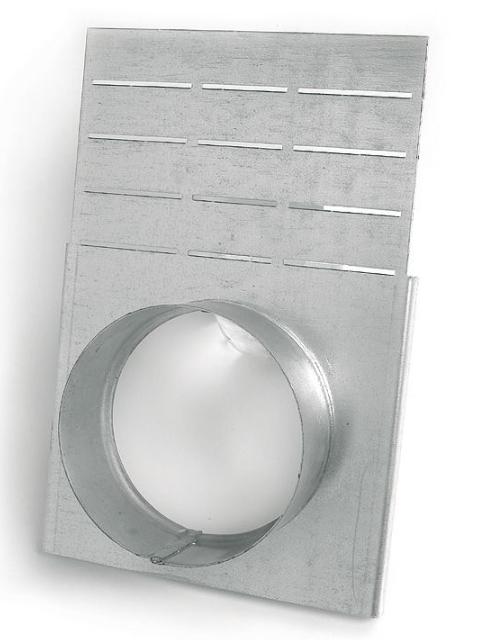 Endplatte mit Ablauf DN 200