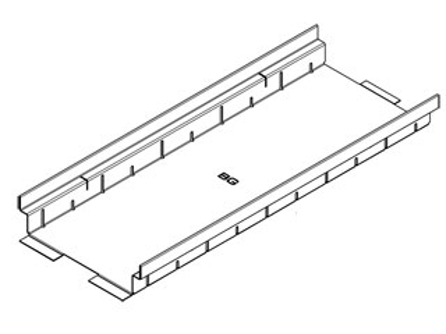 Rinnenkörper geschlossen – Materialstärke 1,00 mm