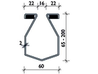 BG-FLEX omega SW 16 – EDELSTAHL