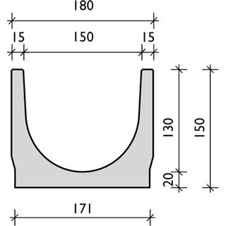 BG-FILCOTEN light, Nennweite 150