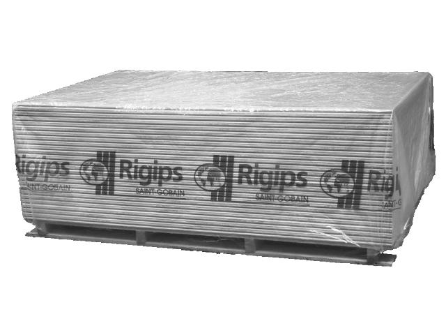 Rigips-Platten 12,5 mm / Gipsplatte A mit Bleifolie kaschiert