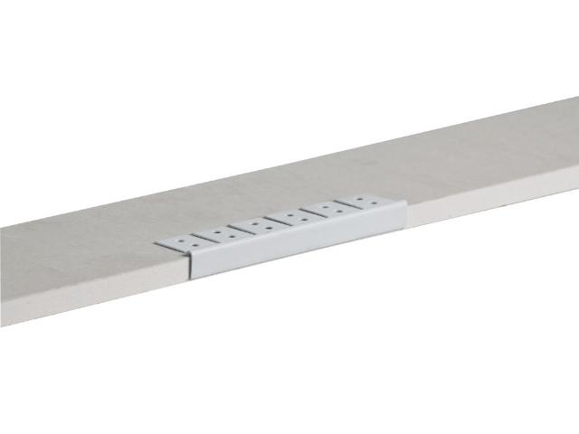 PVC-Kantenprofil, rund (für runde GK- Abschlüsse)