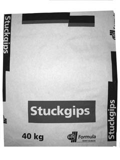 Stuckateurgips Zeppelin