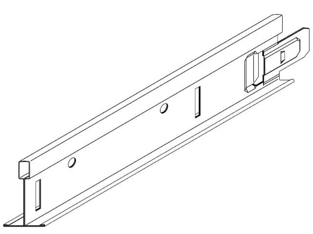 Rigips Quick-Lock T-Hauptprofil 24/38