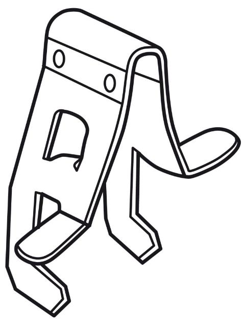 API Cross Lock Verbinder für D2 Kante