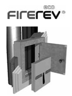 Revisionsklappen Fire REV GPS-EI90