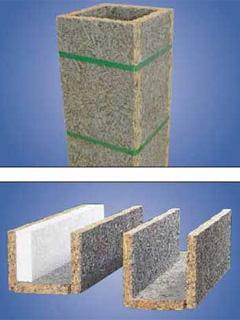 Säulen-Element und Sturz-Element