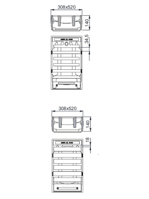 Rahmen: Gusseisen   Rost: Gusseisen   Klasse C 250