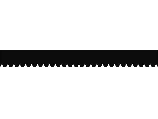 Zahnleiste Nr. A2 / 28 cm