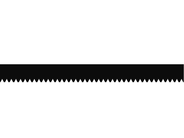 Zahnleiste Nr. A3 / 28 cm