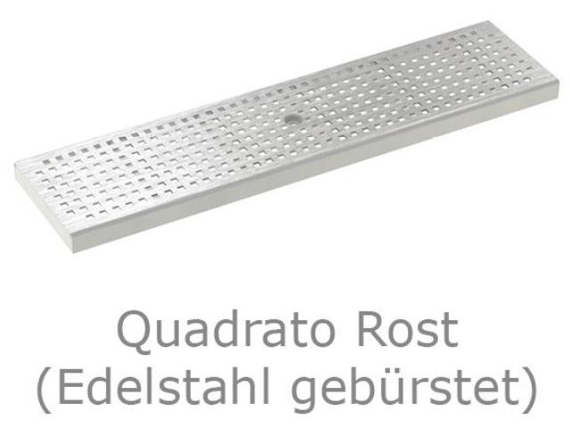 Kastenrinne 125 - Rost Quadrato