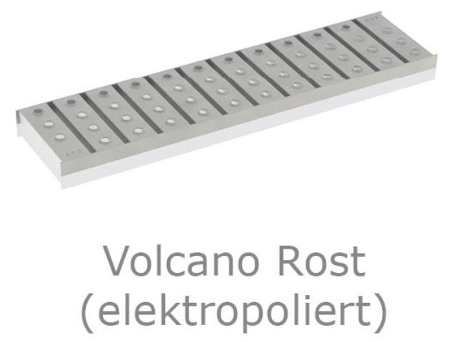 Kastenrinne 125 - Rost Volcano